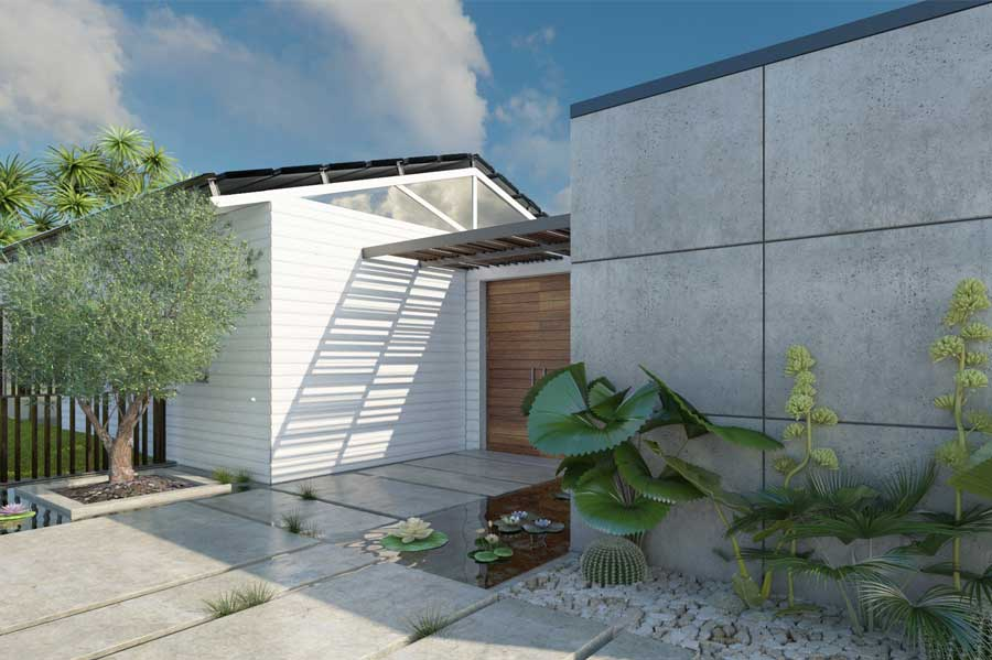 אדריכלות ובתי יוקרה בנחלה