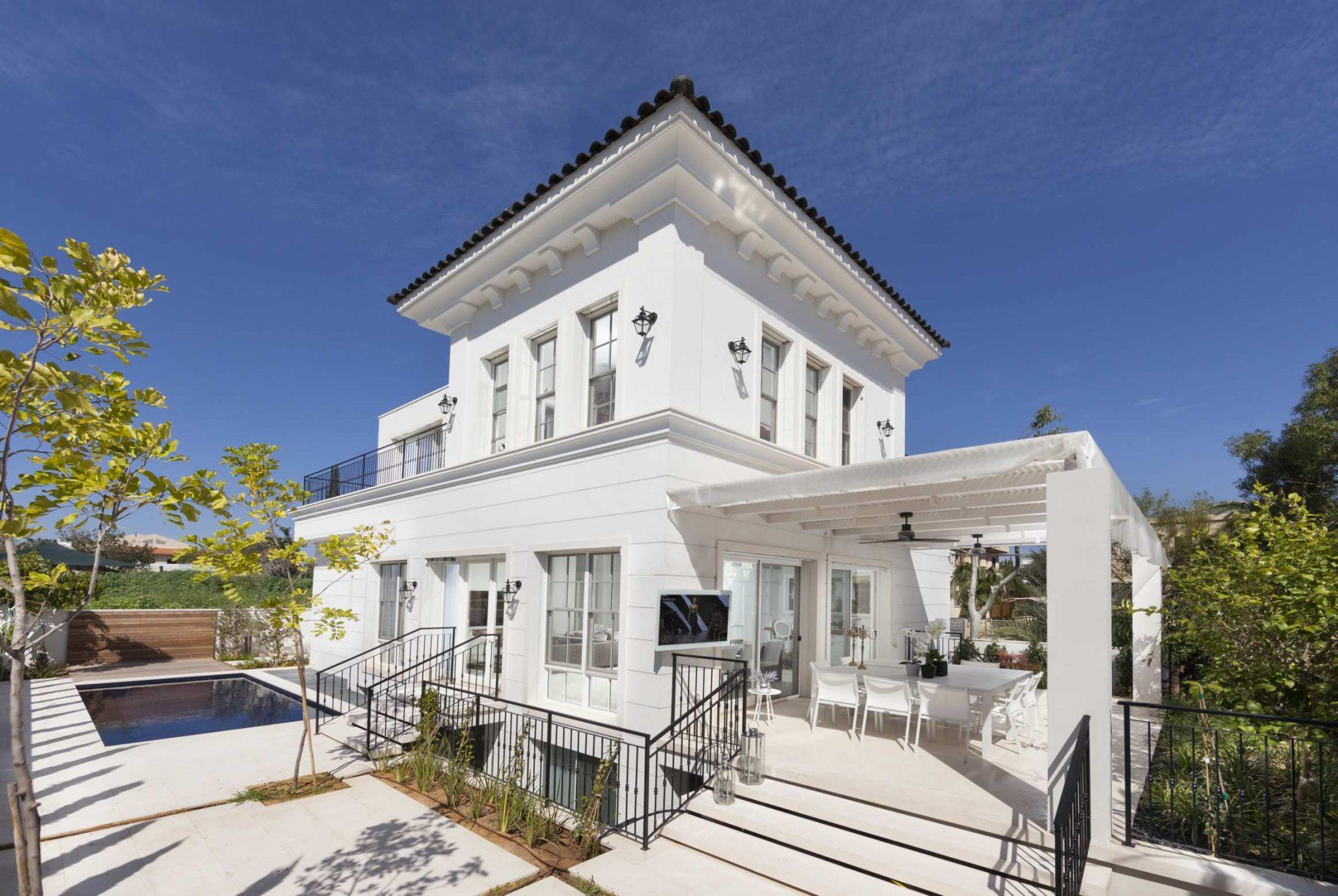 עיצוב פנים ואדריכלות בית בשרון בתים יפים בישראל
